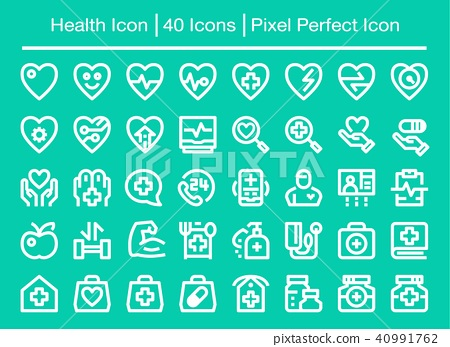 Health Icon Stock Illustration 40991762 Pixta Free icons of health in various ui design styles for web, mobile, and graphic design projects. https www pixtastock com illustration 40991762
