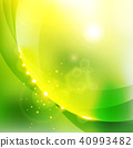 Abstract shining nature green color background. 40993482
