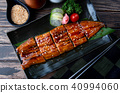 Cut grilled Japanese eel. 40994060