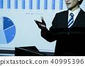 비즈니스 사무실 사업가 회의 프리젠 테이션 40995396