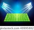 Soccer field with stadium 003 40995602