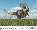tyrannosaurus, rex, dinosaur 40996040