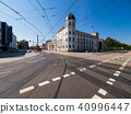 Historical buildings in the city Rostock, Germany 40996447