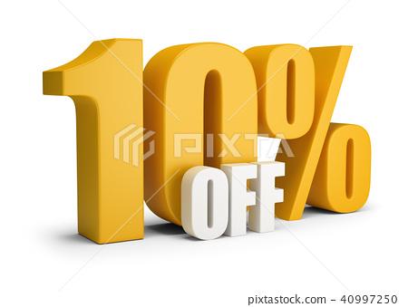 10 percent OFF 40997250