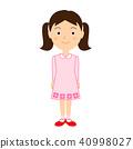 여자아이, 소녀, 여자애 40998027