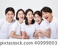 친구,동료,남자,여자,한국인 40999003