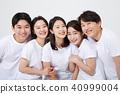 친구,동료,남자,여자,한국인 40999004
