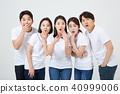 친구,동료,남자,여자,한국인 40999006