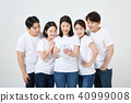 친구,동료,남자,여자,한국인 40999008