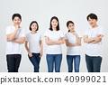 친구,동료,남자,여자,한국인 40999021
