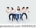 친구,동료,남자,여자,한국인 40999026