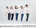 친구,동료,남자,여자,한국인 40999029