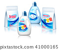 Laundry detergent package design, 41000165
