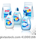 Laundry detergent package design, 41000166
