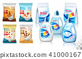 Laundry detergent package design,  41000167