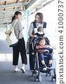 流浪者 一個年輕成年女性 女生 41000737
