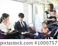 火車 電氣列車 行李 41000757