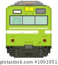 도트 그림 풍 통근 열차 (높은 운전대 ATC · 야마 토지 선 103 계) 41001051