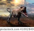 3d dinosaur tyrannosaurus 41002849