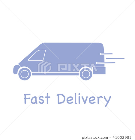Delivery truck Fast and convenient shipping. 41002983