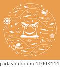 island palm trees 41003444