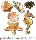 seafood set sea 41003713