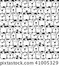 pattern, cute, dogs 41005329