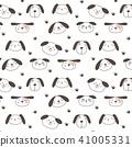 pattern, cute, dogs 41005331