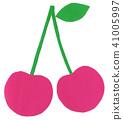切割圖片水果櫻桃 41005997