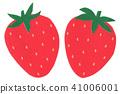 切口圖片果子草莓草莓 41006001