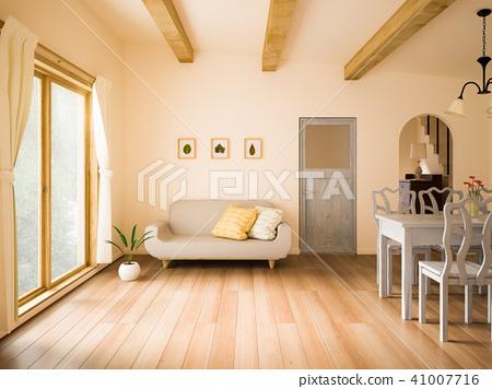 斯堪的纳维亚客厅 41007716