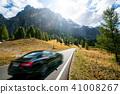 car, countryside, dolomiti 41008267
