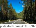 asphalt, countryside, dolomiti 41008282