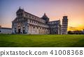 Leaning Tower of Pisa in Pisa - Italy 41008368