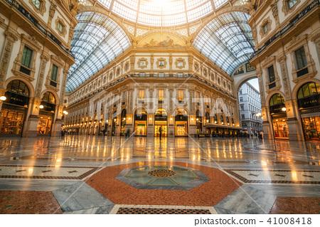 Galleria Vittorio Emanuele II in Milan, Italy 41008418