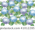 hydrangea flower flowers 41012285