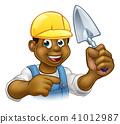 builder construction bricklayer 41012987