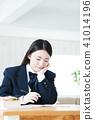 高中生女性女生学习考试教育学习 41014196
