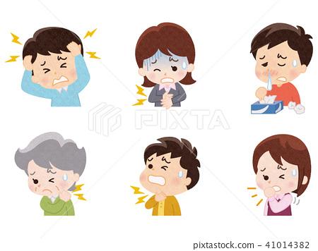 poor health, person, headache 41014382