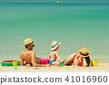beach, family, mother 41016960