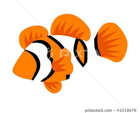 Clown Fish Tropical Fish clip art 41018676
