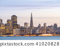 San Francisco downtown skyline 41020828