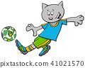 football,cat,cartoon 41021570