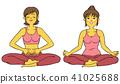 瑜伽健身女性套裝 41025688