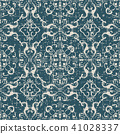 antique seamless pattern 41028337