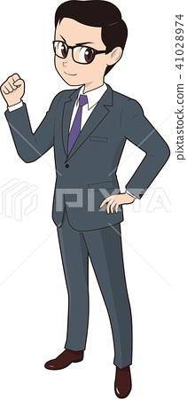 商務人士 商人 男性白領 41028974