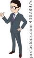 business, man, thumbs 41028975