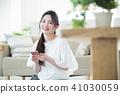 여성, 여자, 스마트폰 41030059