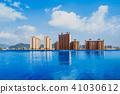 Swimming Pool, Sunset, Dating, Poolside, Flirting 41030612