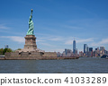 Statue of Liberty and Manhattan Skyline 41033289